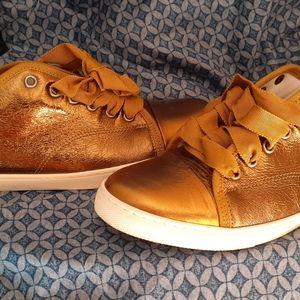 Lanvin Gold sneakers